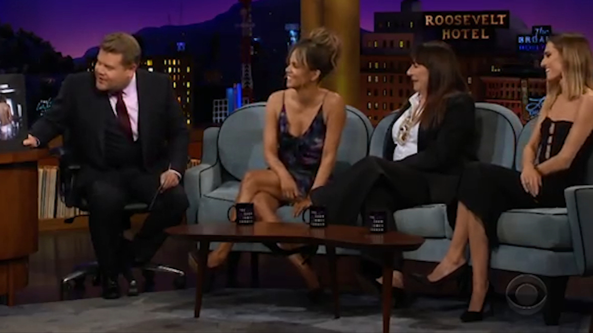 Halle Berry reveals her huge back tattoo is actually fake