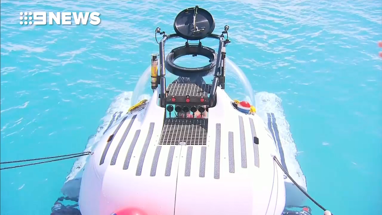 Meet scUber, the world's first rideshare submarine