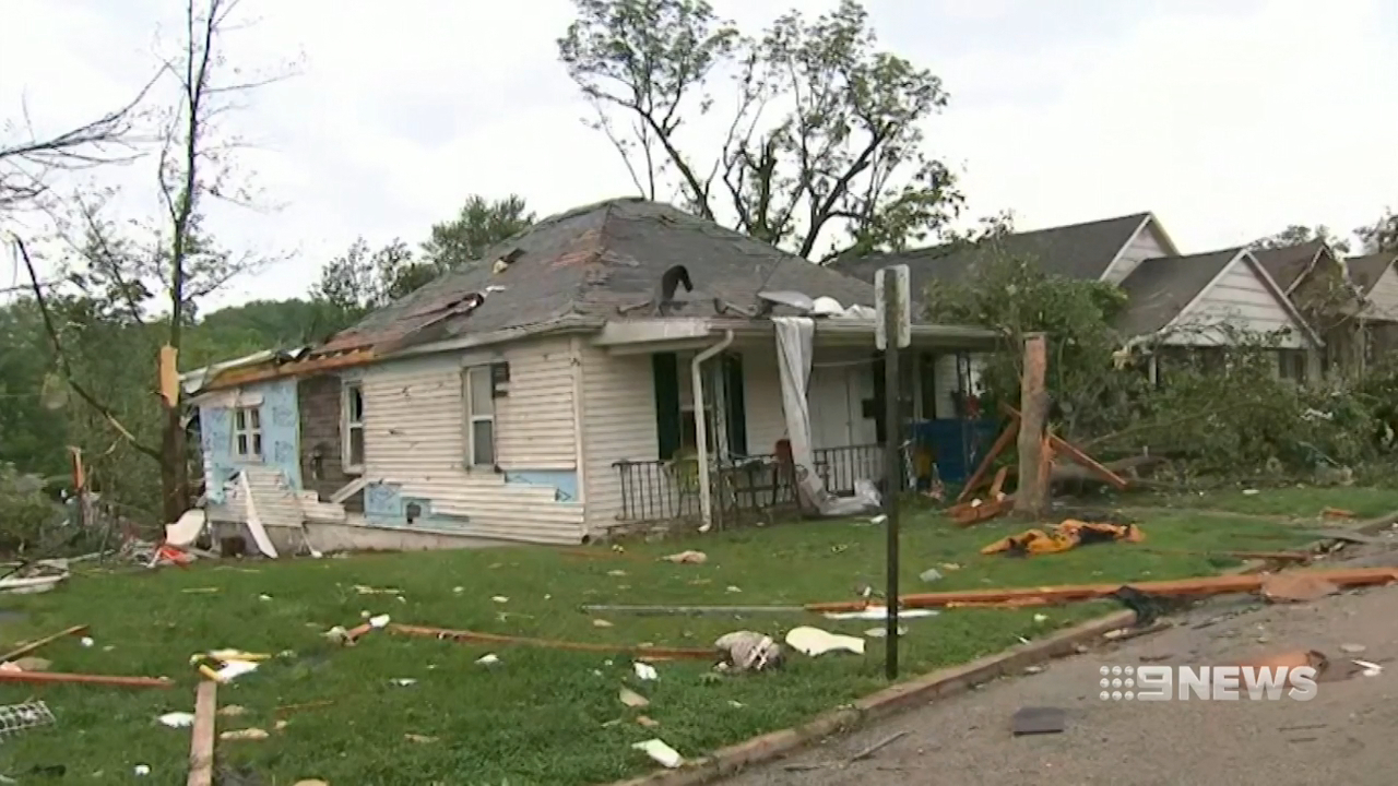 Devastating US tornadoes leave three dead, thousands without power