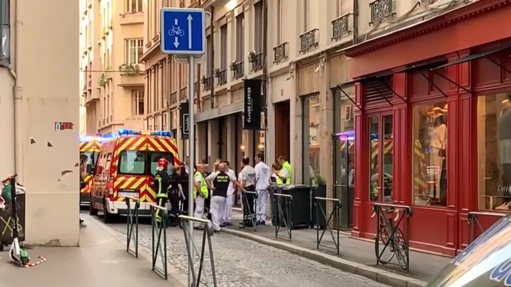 Thirteen wounded in bakery store 'bomb attack' in Lyon