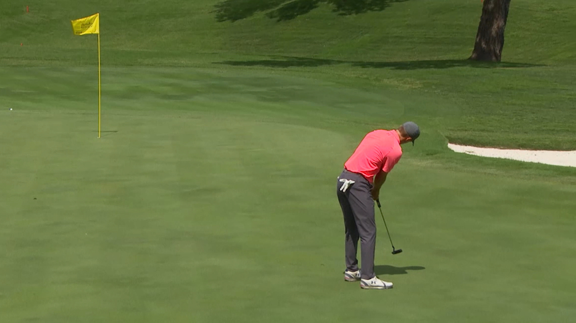 Round 2 highlights of the Charles Schwab Challenge
