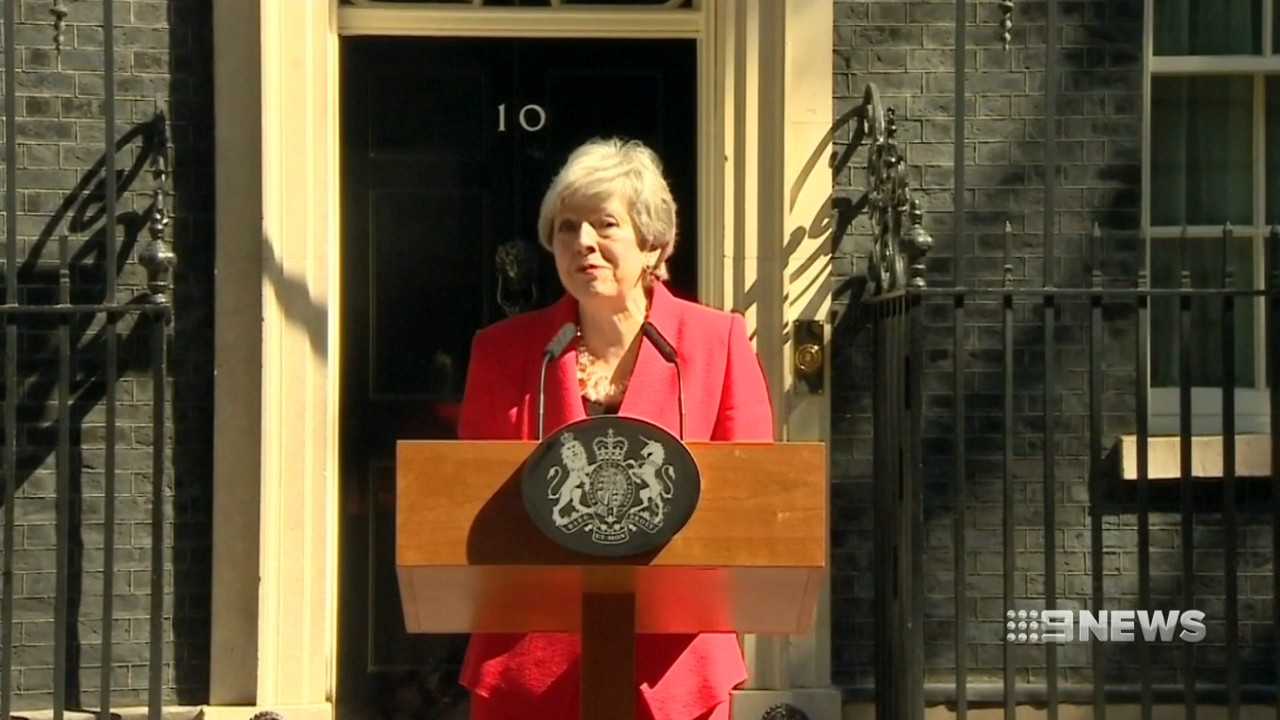 Theresa May resigns after Brexit failure
