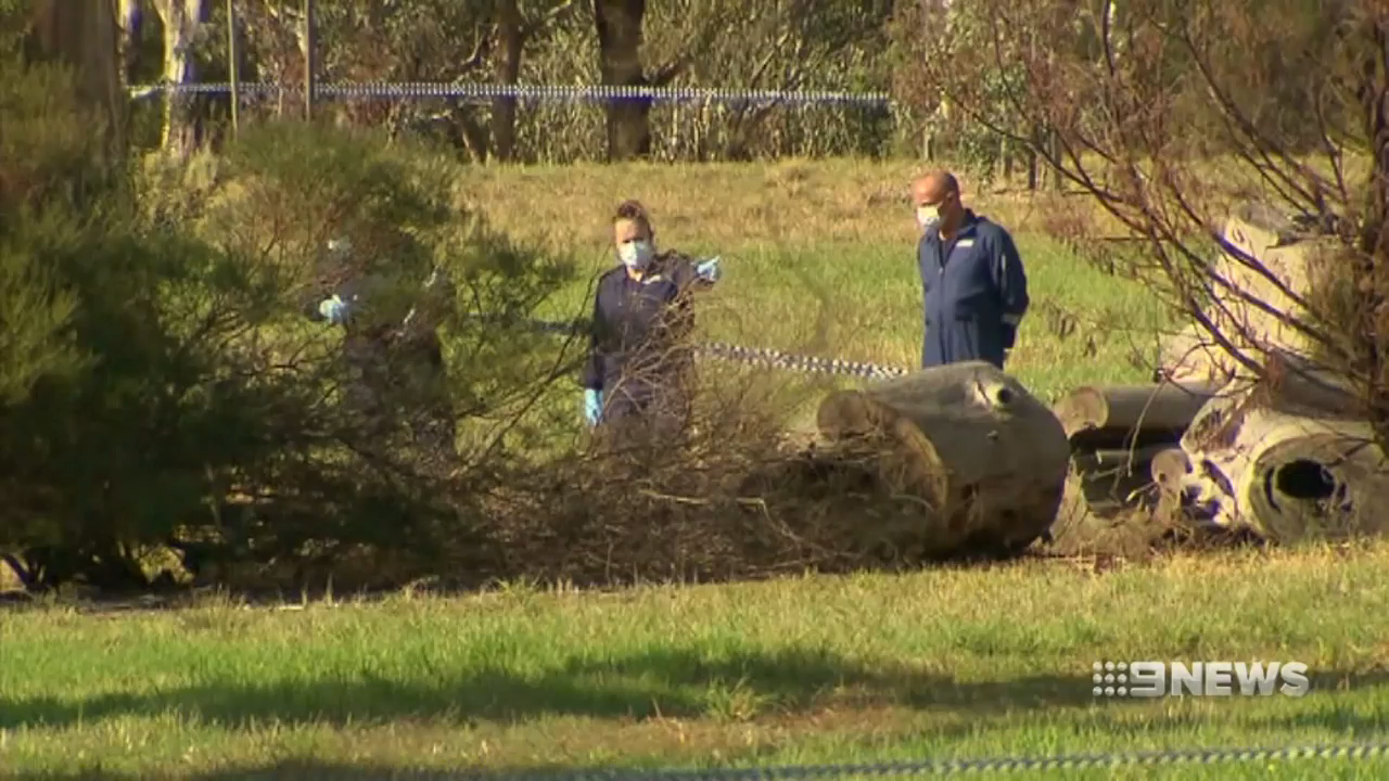 Woman's body found at Melbourne park