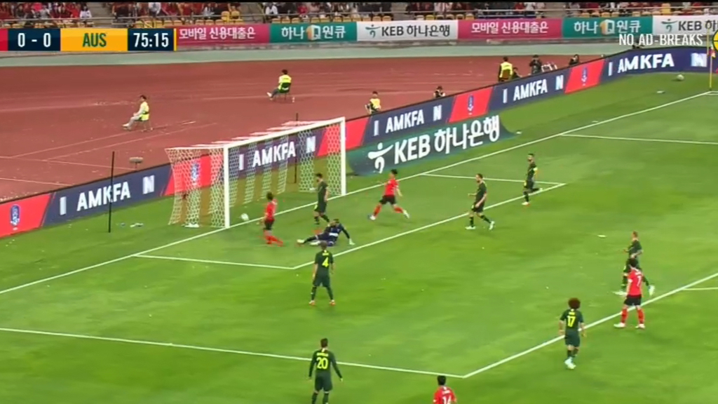 South Korea edge inexperienced Socceroos
