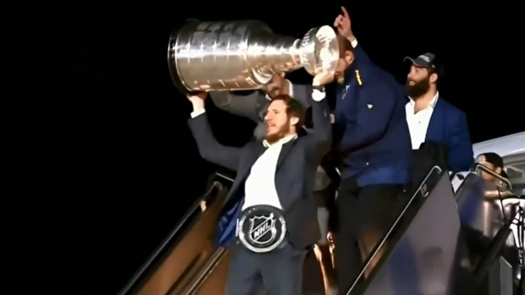 St. Louis Blues get first Stanley Cup win