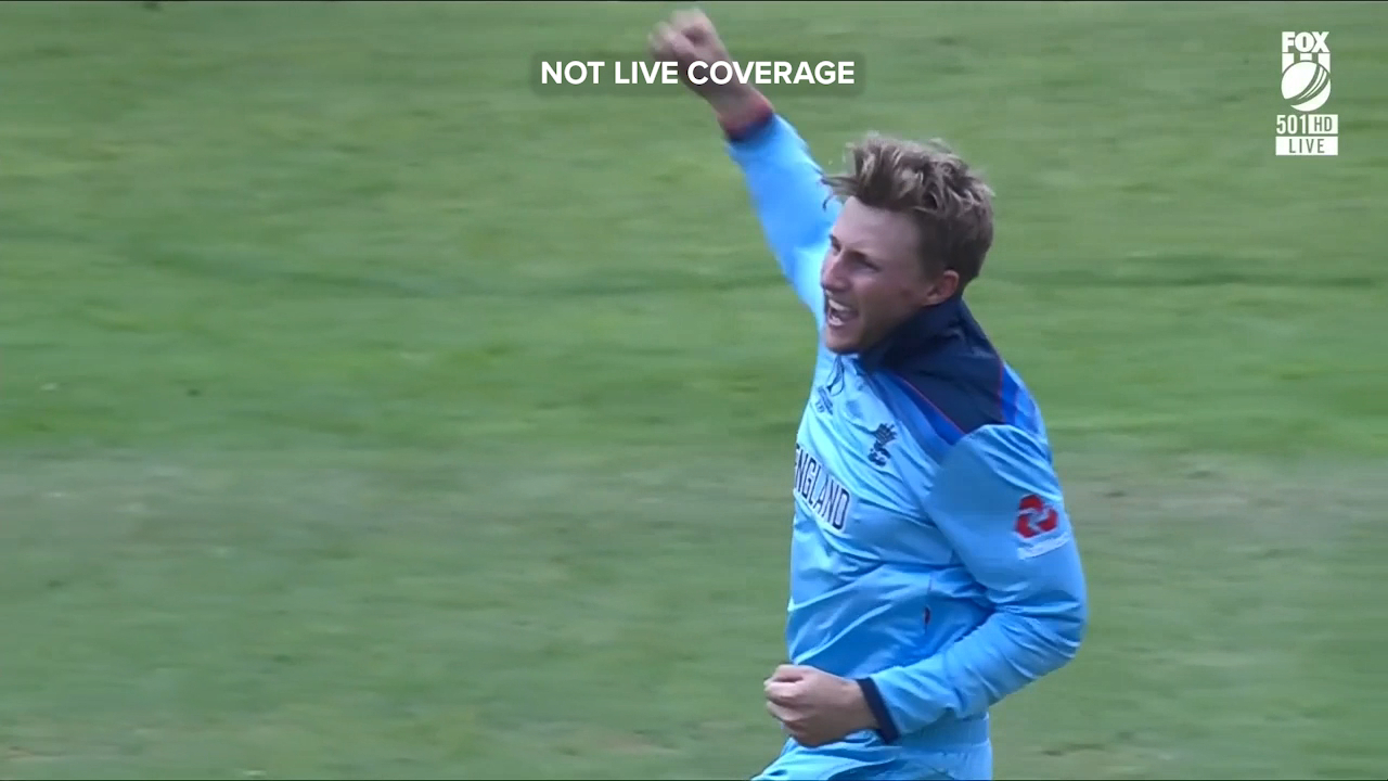 Joe Root grabbed two crucial wickets for England against the West Indies