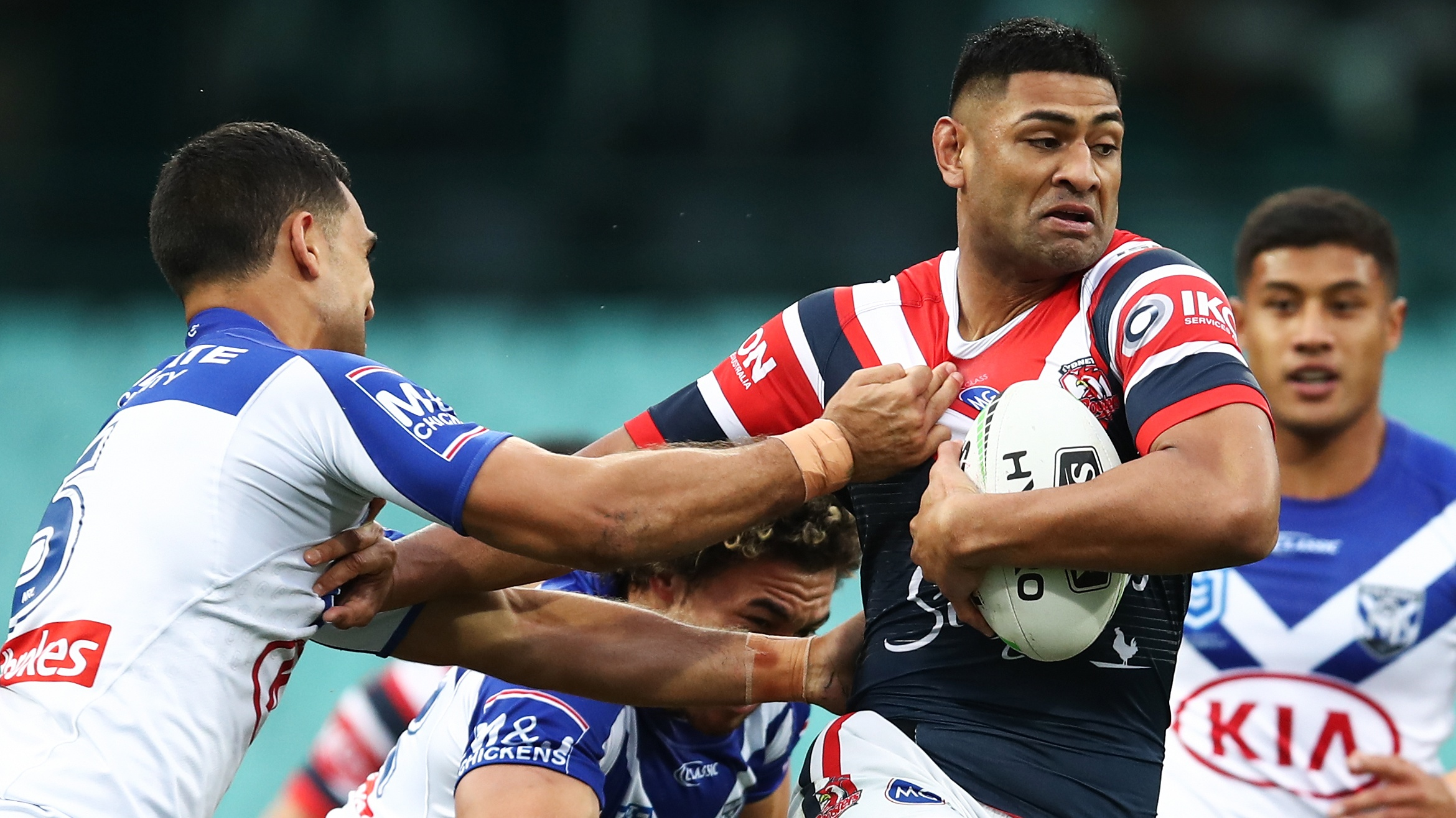 NRL Highlights: Roosters v Bulldogs - Round 14