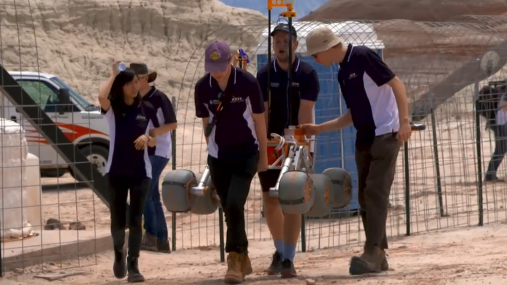 Students compete to build the best Mars rover