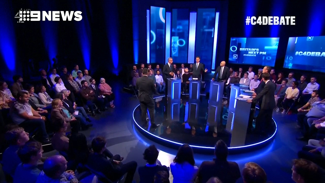 Boris Johnson skips debate as Tory rivals quizzed on Brexit