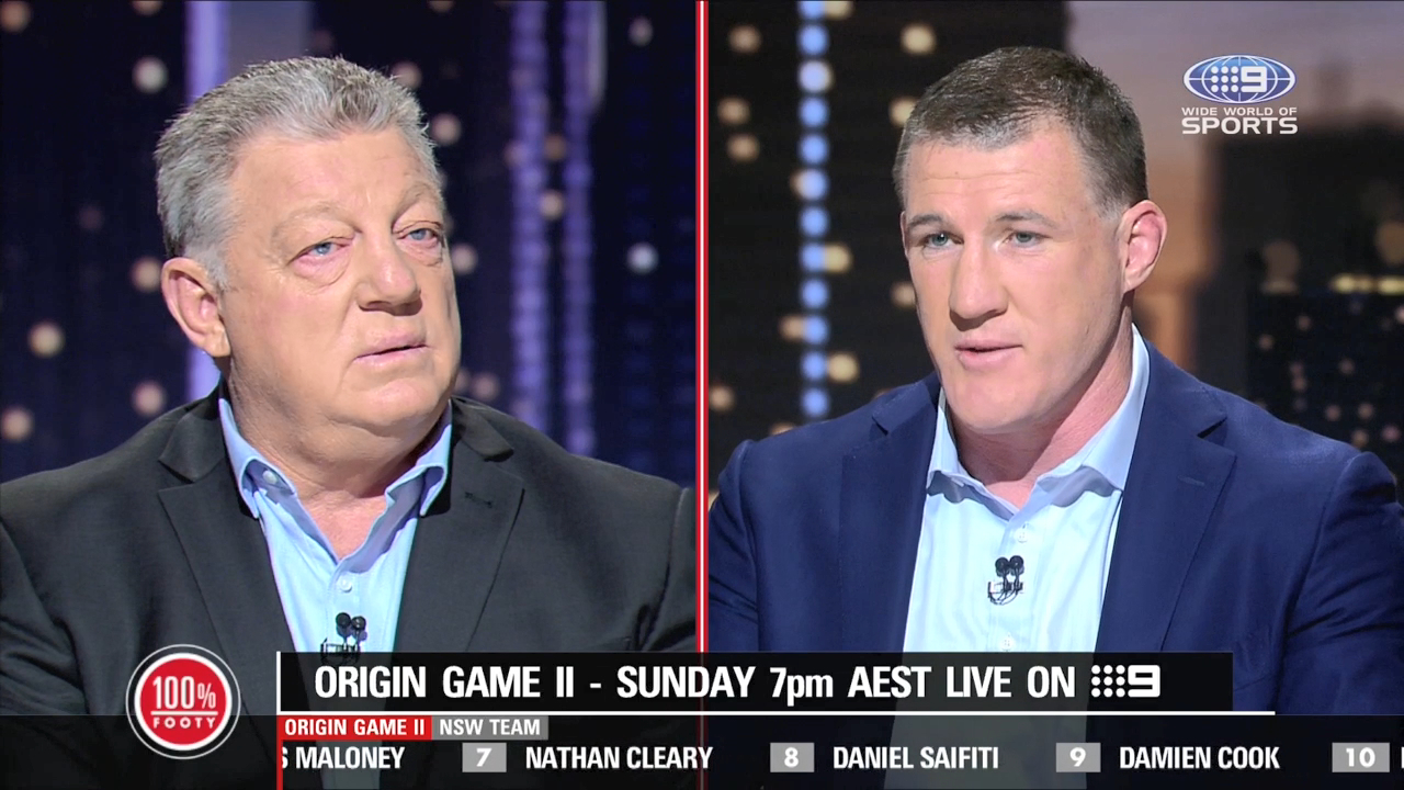 Paul Gallen takes issue with Phil Gould's suggestion that Blues players gave less than 100 percent in Game One