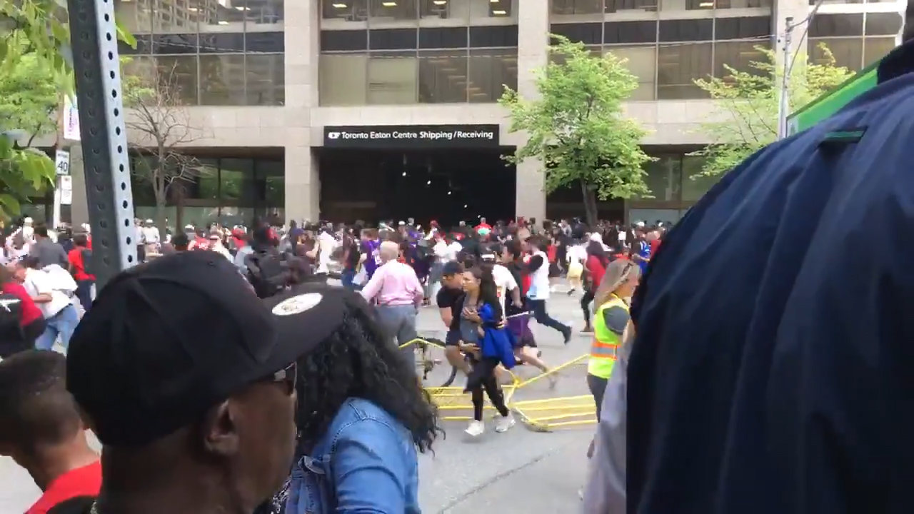 Two people shot at Raptors victory parade in Toronto