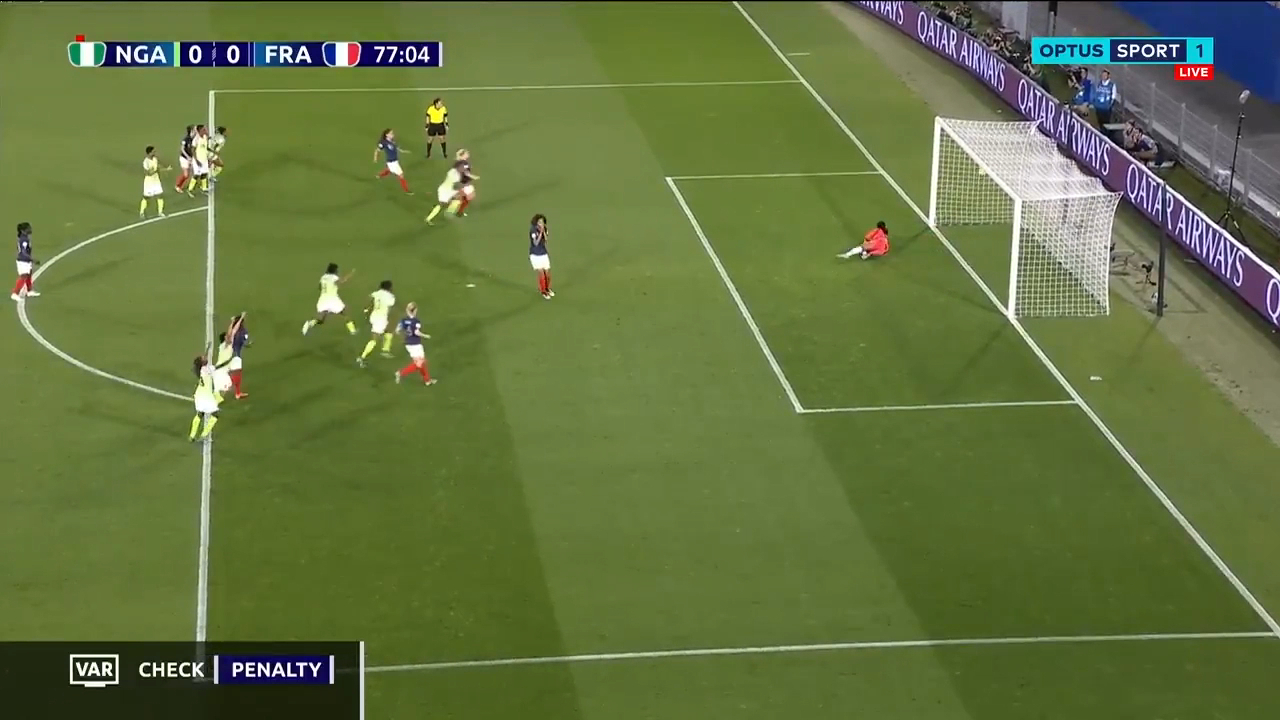 France beat Nigeria with controversial VAR penalty