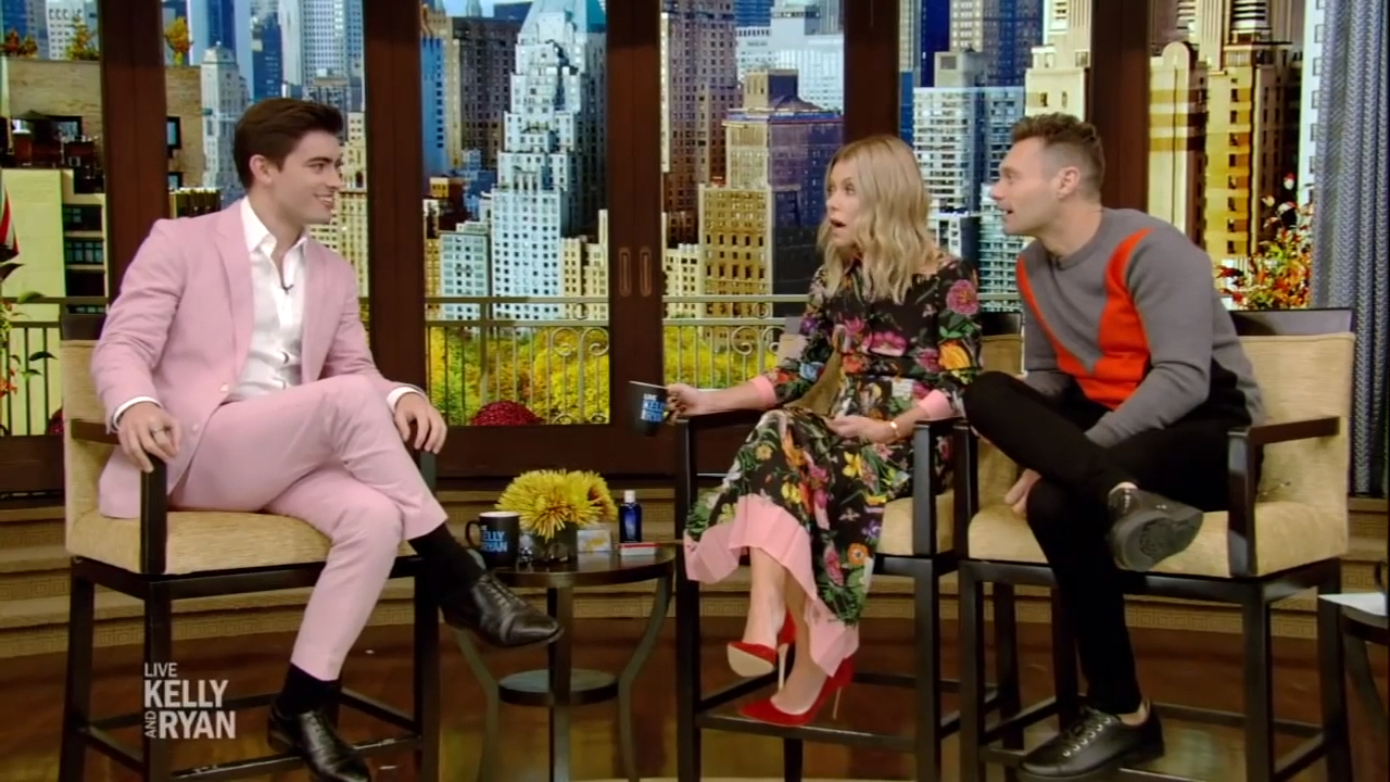 Kelly Ripa and Mark Consuelos recall daughter walking in on them having sex