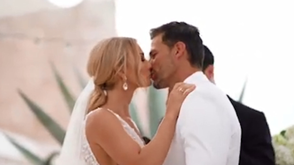 Tim Robards and Anna Heinrich marry in stunning ceremony in Italy