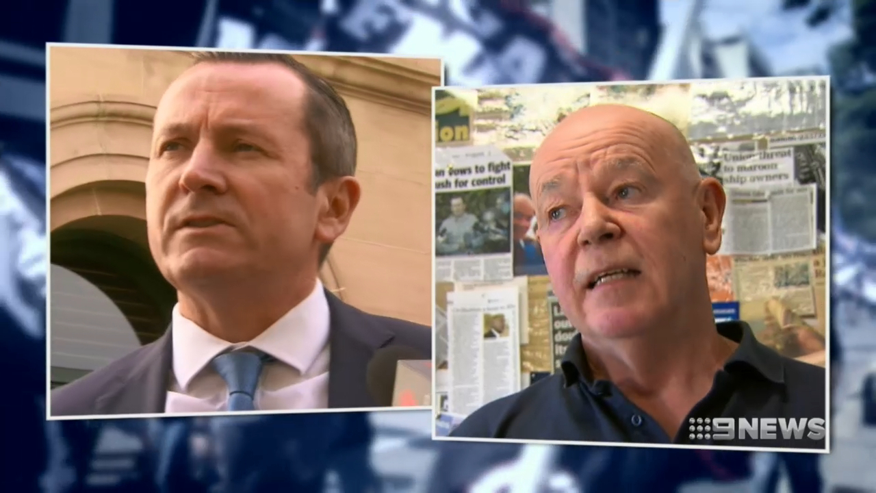 Premier Mark McGowan ignites war inside his own party