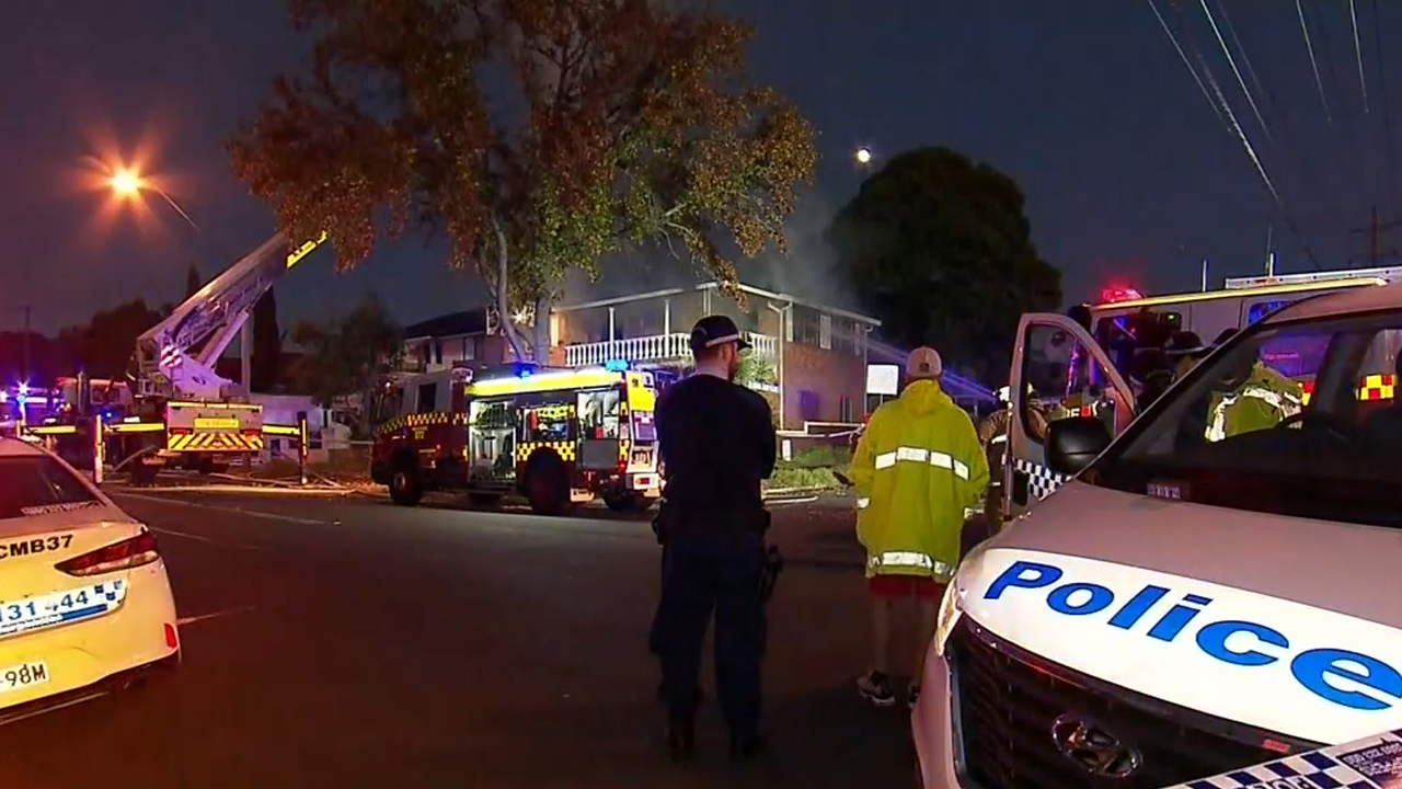 Sydney news: Two people escape unharmed after housefire in Merrylands West