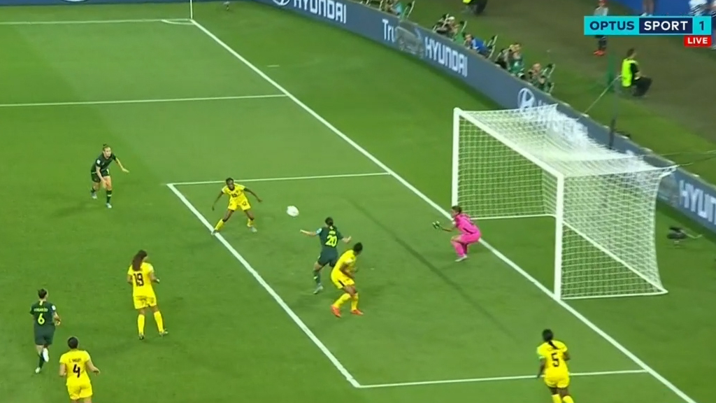 Sam Kerr four goals video | Matildas vs Jamaica, Women's World Cup 2019