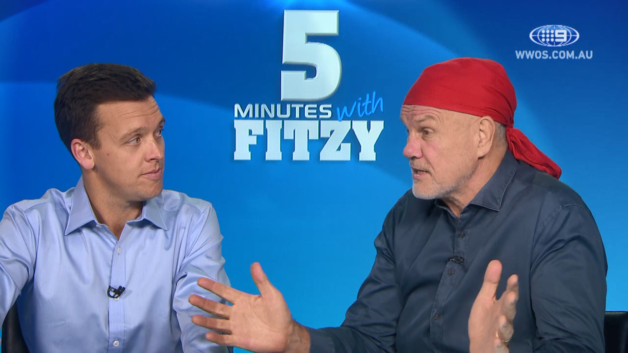 Fitzy slams AFL crowd behaviour: 5 Mins with Fitzy