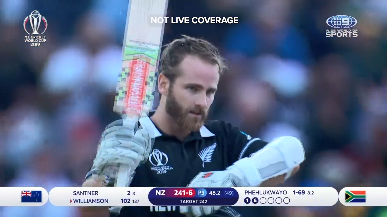 The best of New Zealand captain Kane Williamson's match-winning century against South Africa