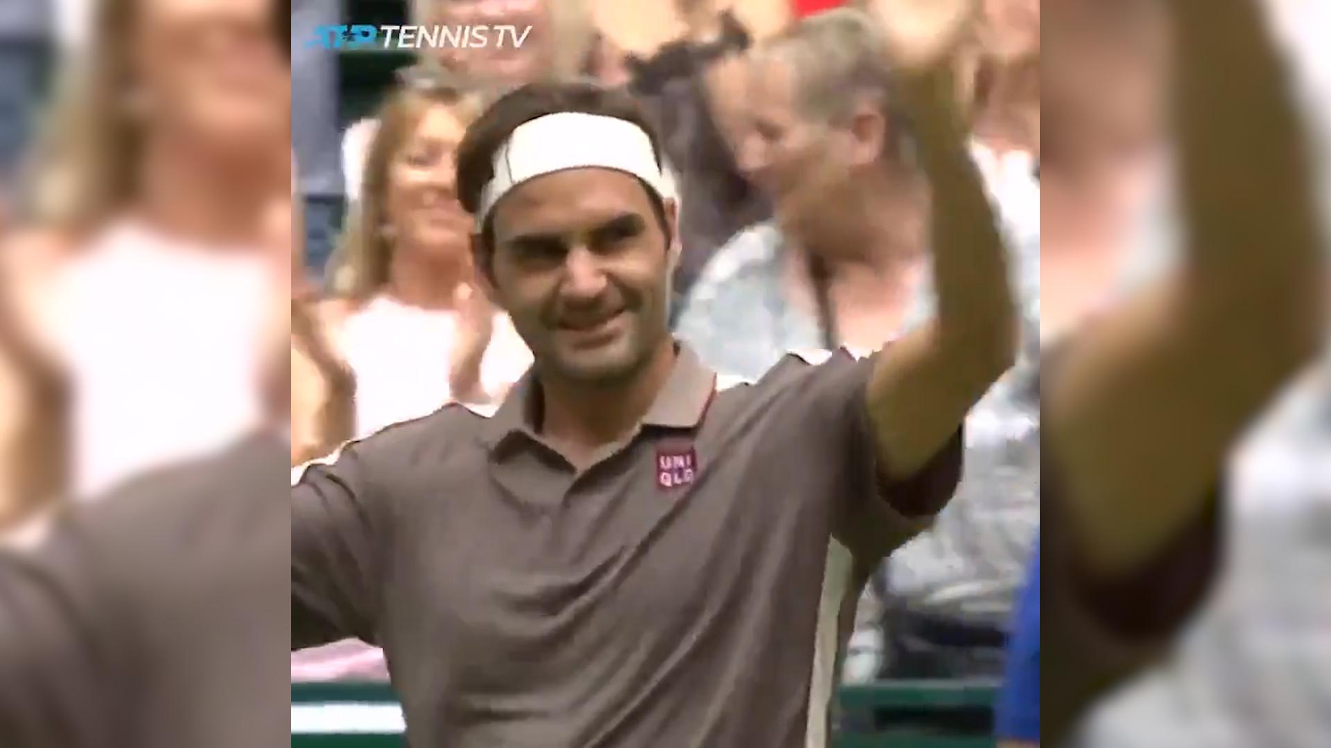 Federer beats Aussie Millman