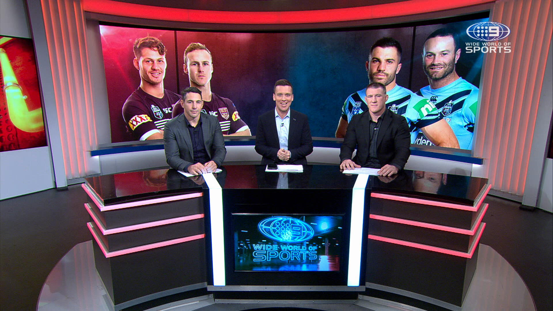 Slater and Gallen: Origin Game Day