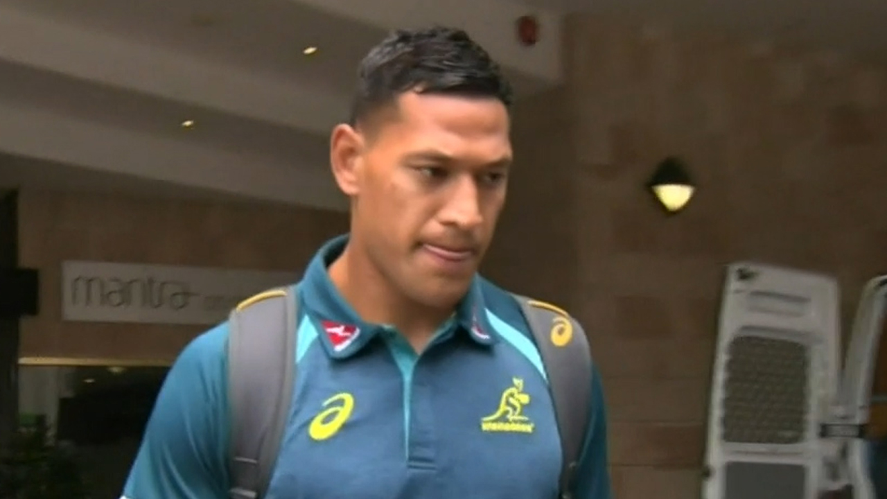 Folau opens up to Jones