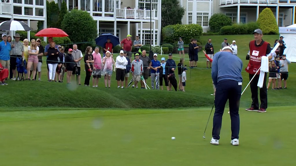 Round 2 golf highlights of the Travelers Championship