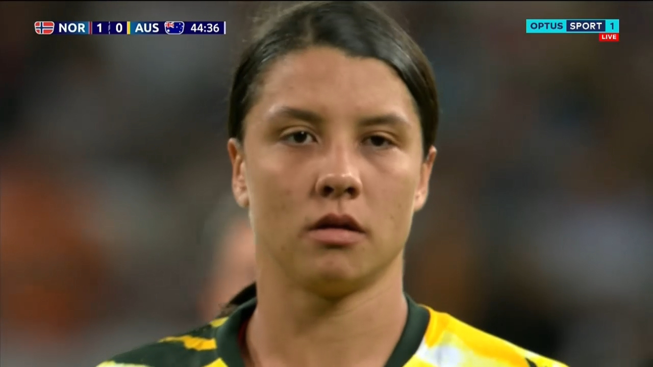 FIFA Women's World Cup Norway v Australia VAR review penalty Sam Kerr