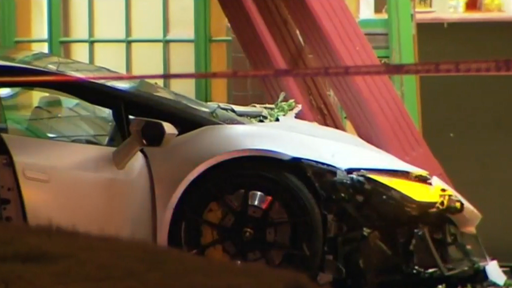 Teenager Killed After Man Allegedly Loses Control Of Lamborghini
