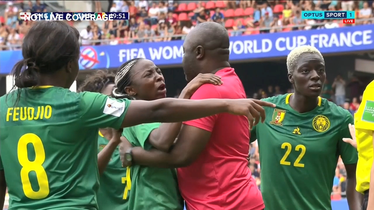 World Cup: Cameroon players outraged by VAR decision against England