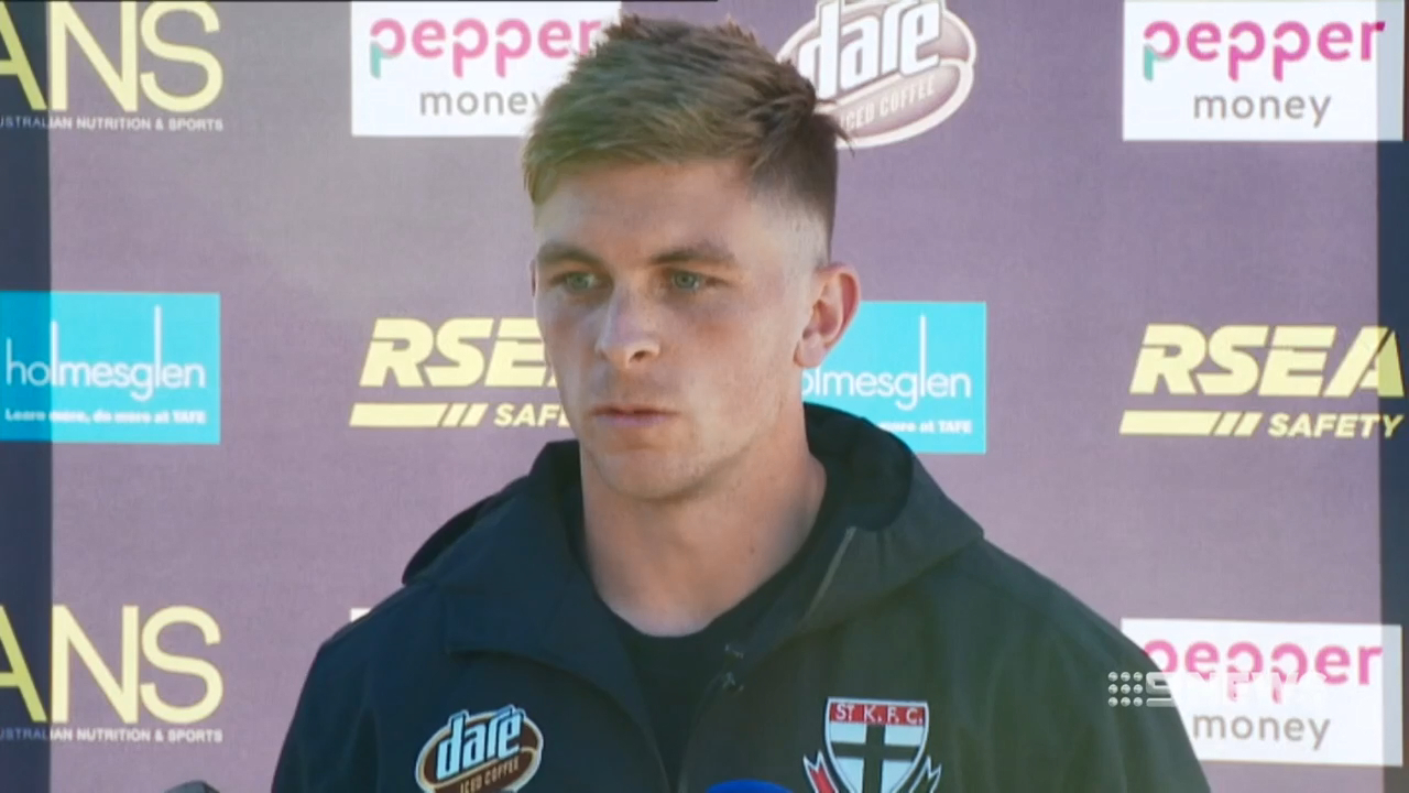 St Kilda star Seb Ross defends under-fire coach Alan Richardson after the heavy loss to the Brisbane Lions