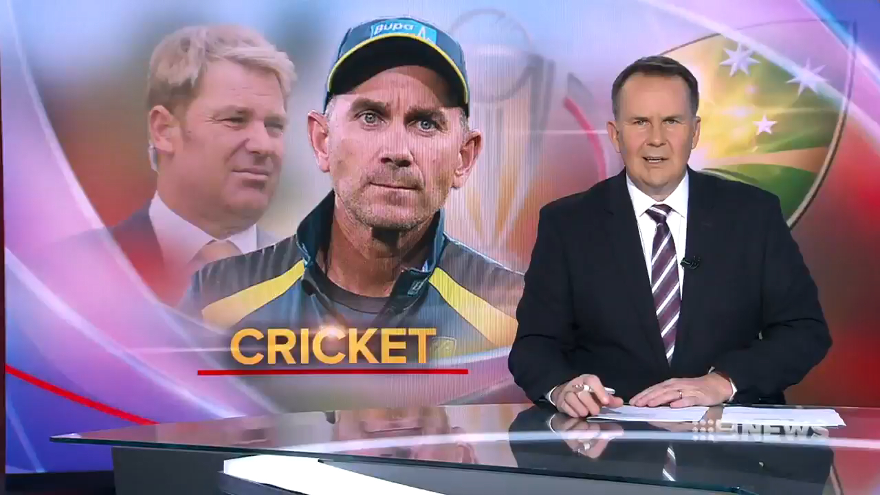 Australian coach Justin Langer has responded to vocal criticism from former teammate and spin legend Shane Warne