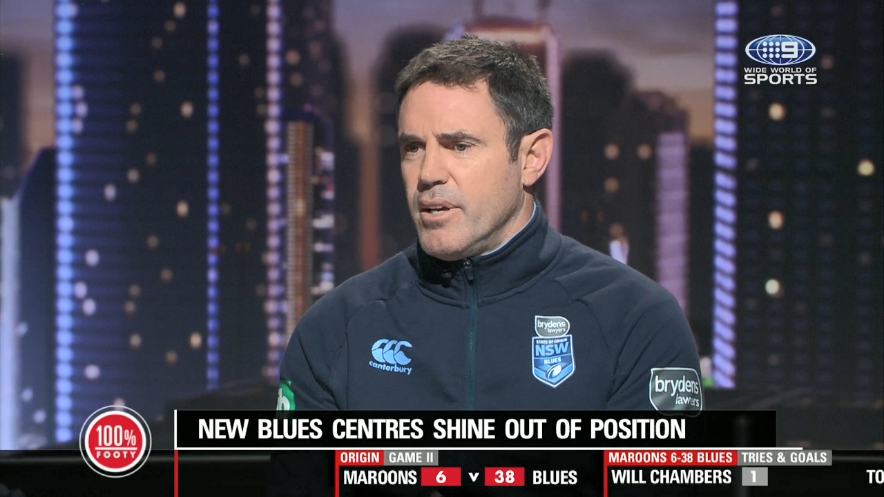 NSW Origin coach Brad Fittler explains how the success of his team has a widespread impact on the New South Wales community