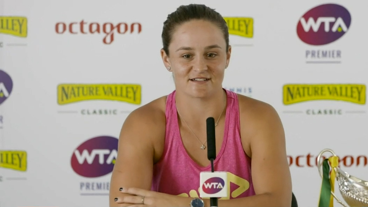 Ash Barty injury | Wimbledon favourite withdraws from warm-up tournament