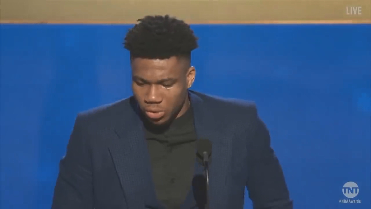 Emotional Giannis wins MVP