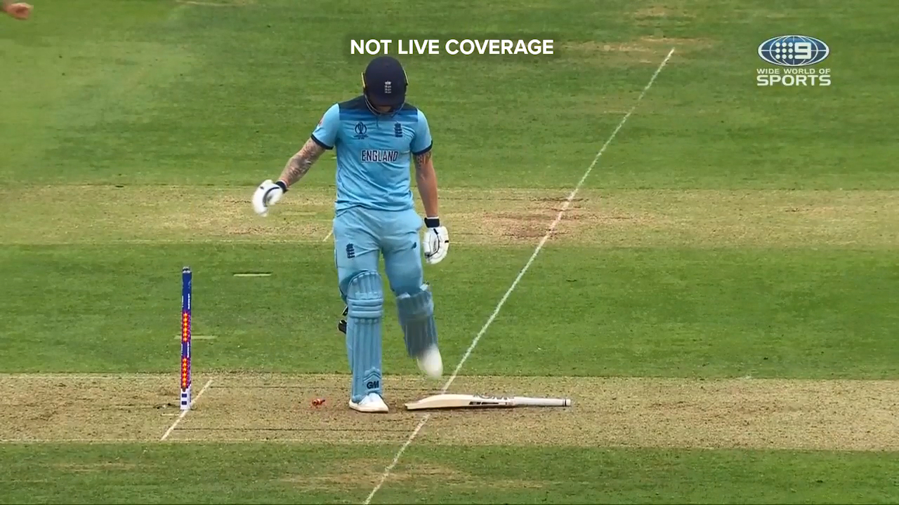 Mitchell Starc delivered a perfect inswinging yorker to dismiss Ben Stokes