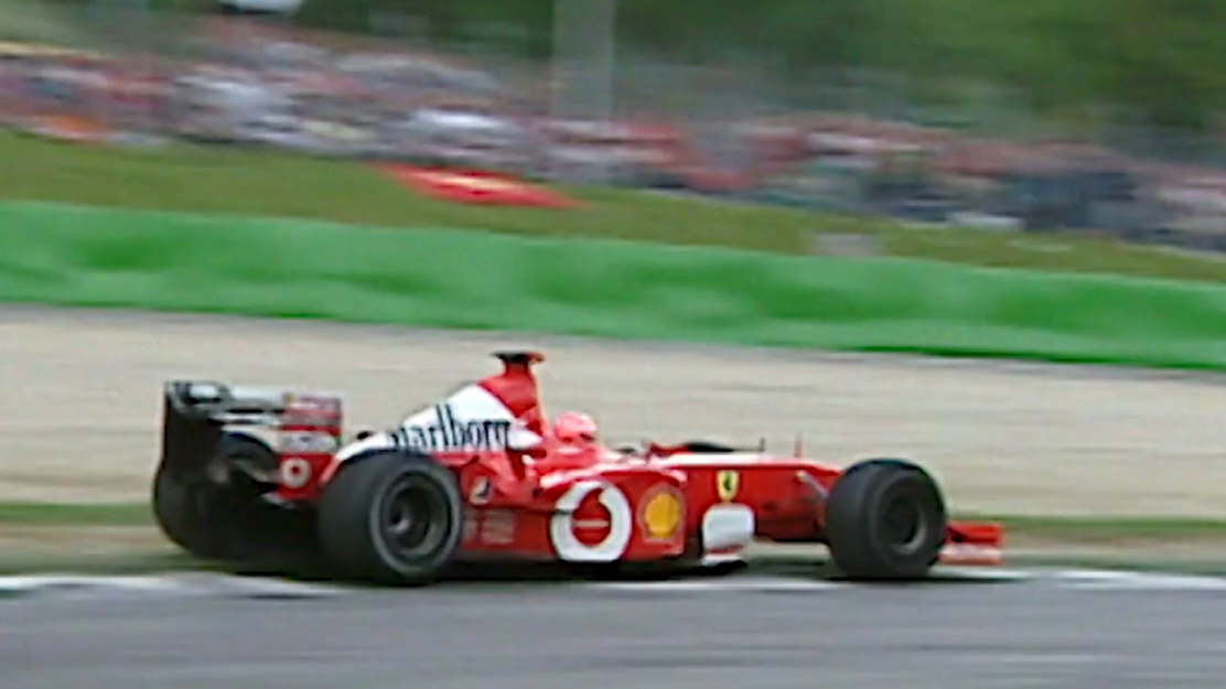 Michael Schumacher's championship-winning Ferrari for sale