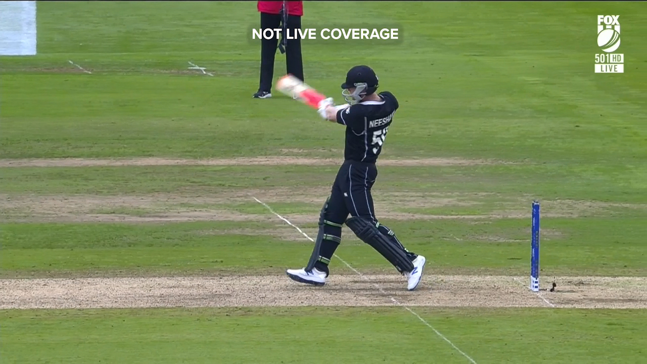 Jimmy Neesham dug New Zealand out of a hole with 97 not out against Pakistan