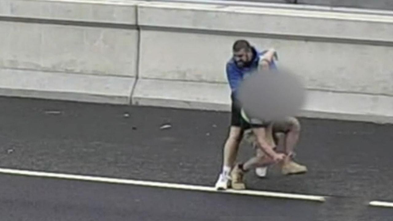 Melbourne freeway rage