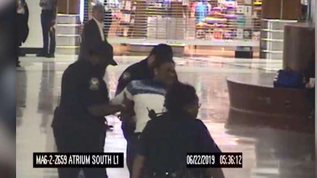Kidnapping attempt at Atlanta airport