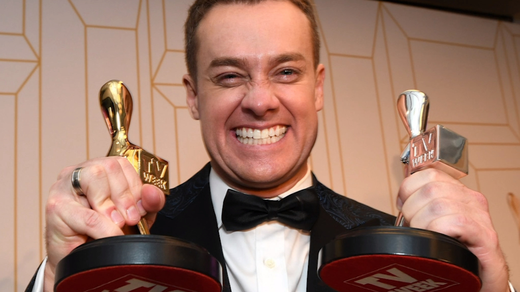 Grant Denyer calls out Tom Gleeson for mocking Logies