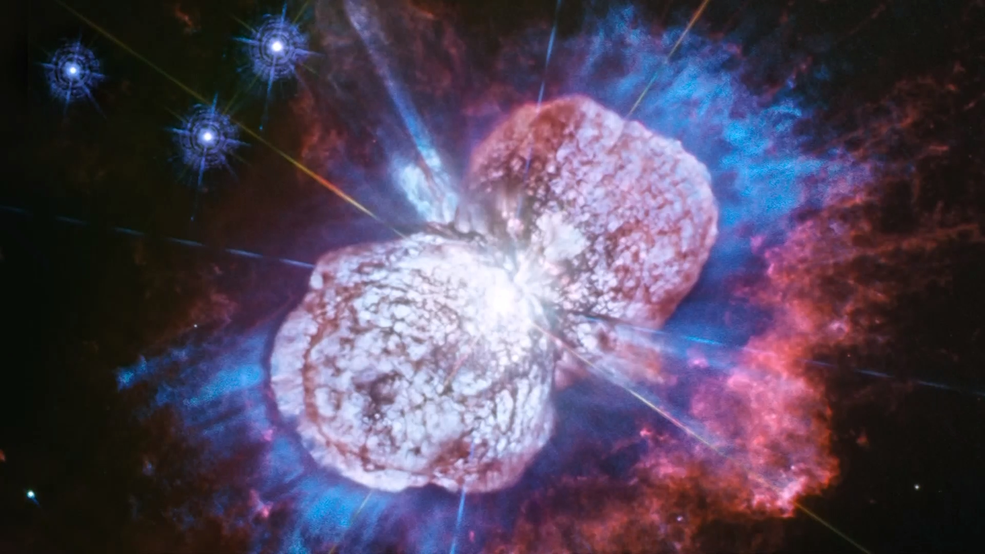 New photo captures Eta Carinae's fireworks show