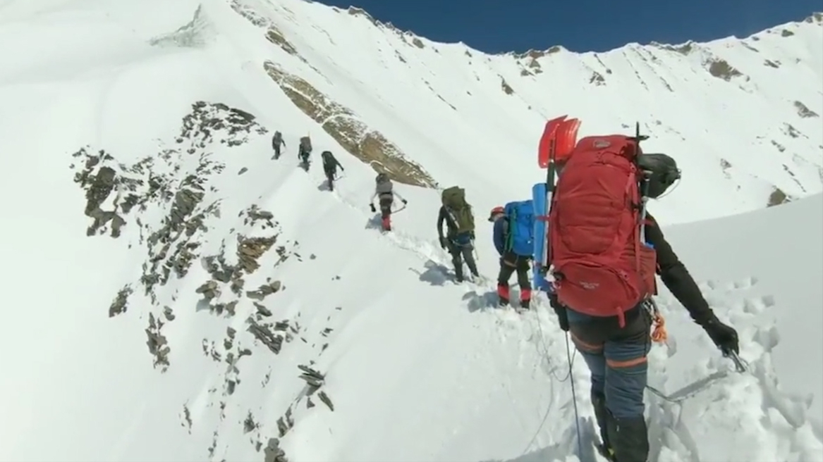 Found GoPro footage reveals last minutes of eight dead Himalayan climbers