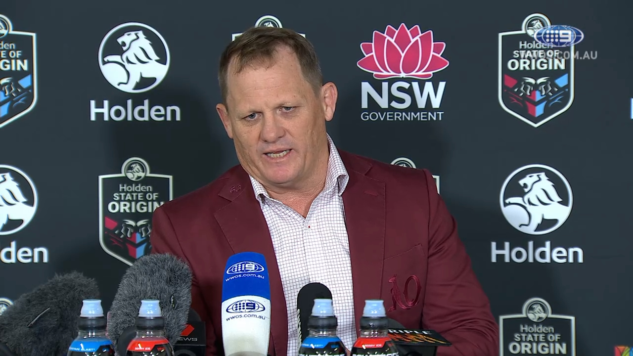 State of Origin Press Conference: Kevin Walters - Game III