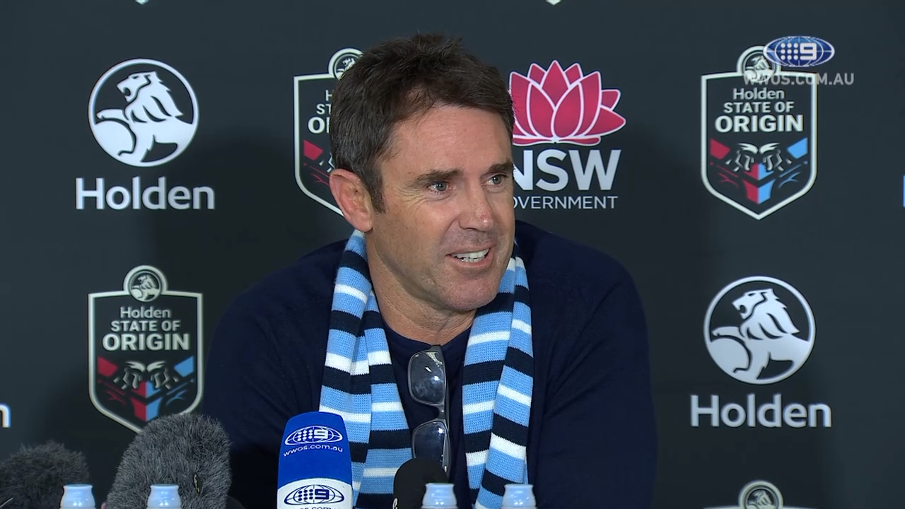 State of Origin Press Conference: Brad Fittler - Game III