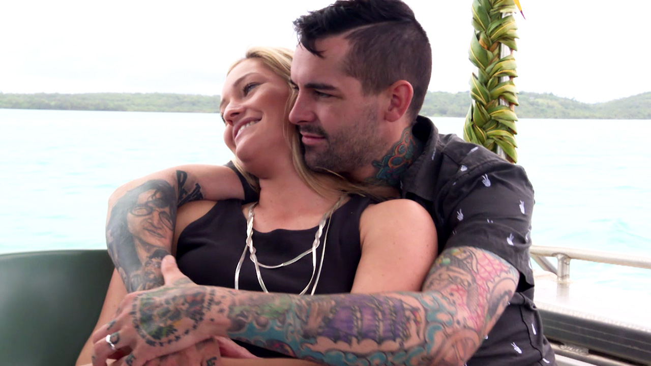 Nicole and Keller's romantic honeymoon