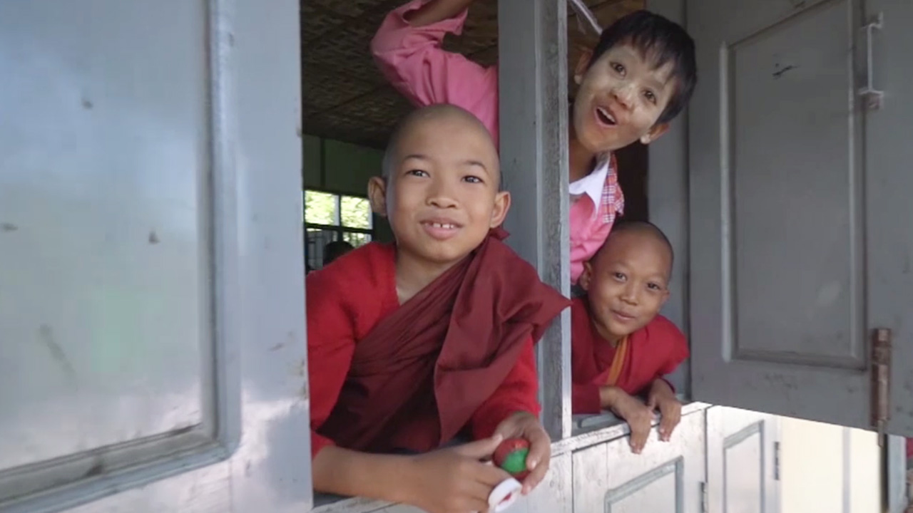 Sagan's local Buddhist school