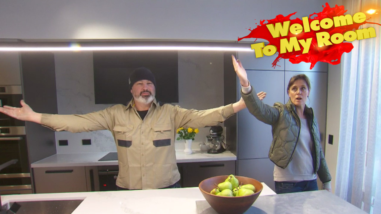 Sarah and Json show you around their second place kitchen