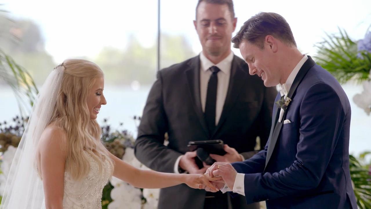 Troy and Ashley's wedding