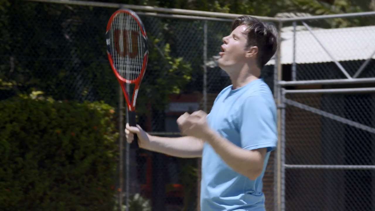 Extended: Troy attempts to play tennis